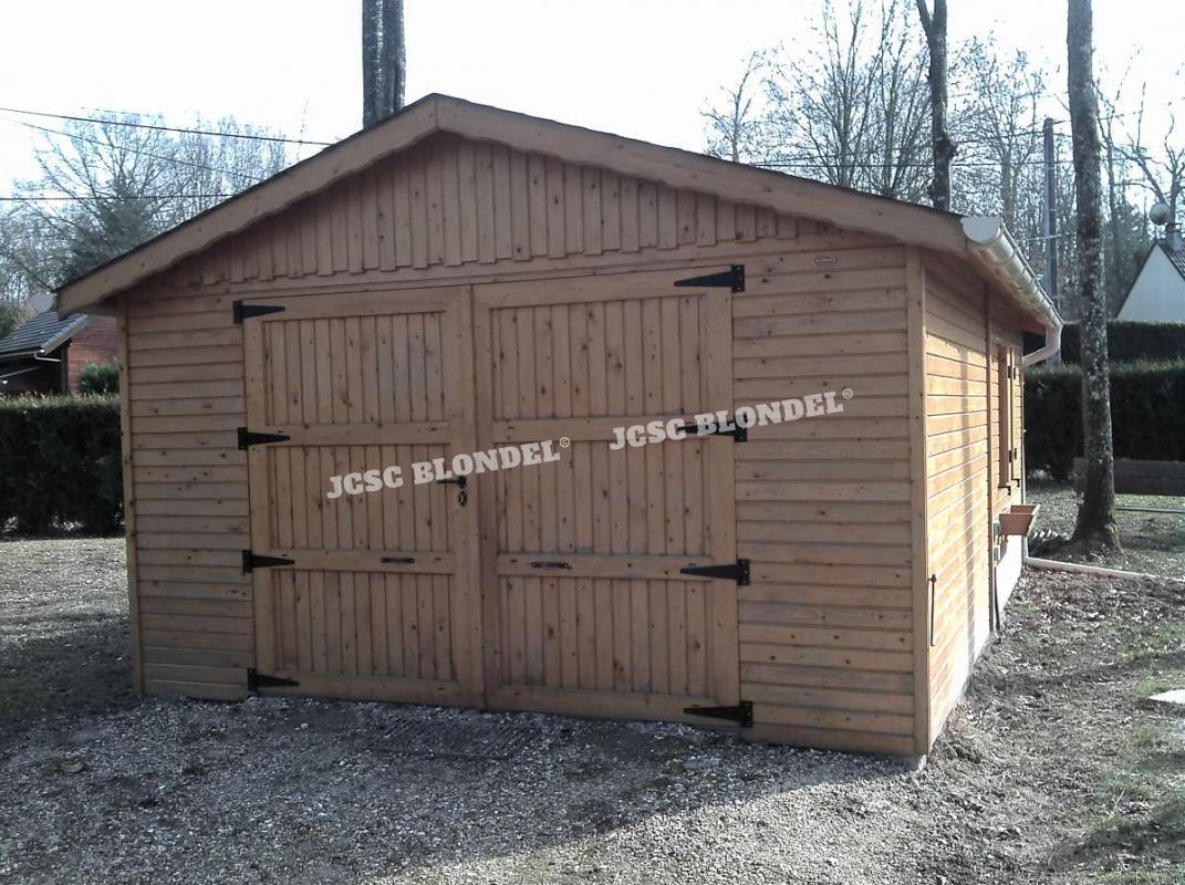 Abris de jardins 89 m tal charpente sur poteaux garages for Garage mercedes auxerre 89