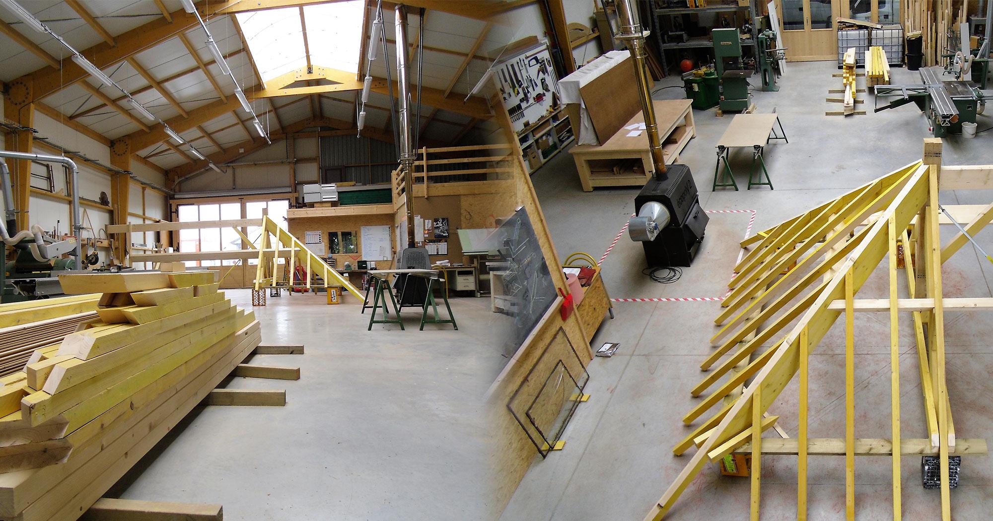 Blondel champigny m tal charpente sur poteaux garages bois for Montereau fault yonne code postal